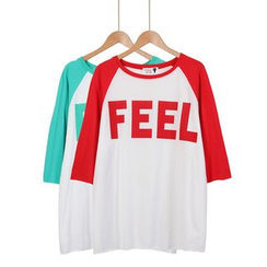 Momewear - Raglan Loose-Fit T-Shirt