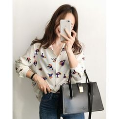 UPTOWNHOLIC - Pattern Blouse