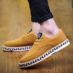 MARTUCCI - Platform Paneled Casual Shoes