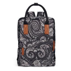 Mr.ace Homme - Patterned Canvas Backpack