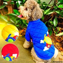 Pet Sweetie - Aeroplane Quilted Dog Dress