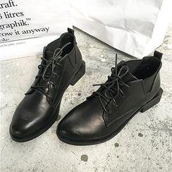 Dasim - Low Heel Oxfords