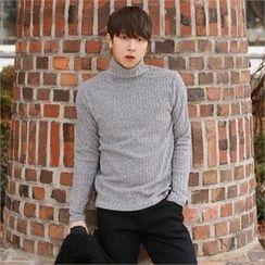 Smallman - Mock-Turtleneck Sweater