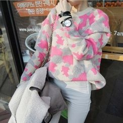 Polaris - Camouflage Mohair Sweater
