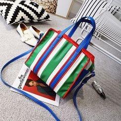 Beloved Bags - Color Block Hand Bag