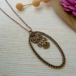 MyLittleThing - Teardrop Owl Necklace