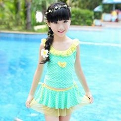 UniFIN - Kids Dotted Swimdress