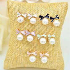 Best Jewellery - Faux Pearl Earrings