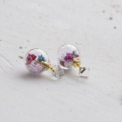 Love Generation - Double-Sided Stud Earrings