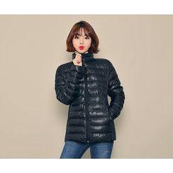 HOTPING - Zip-Up Padded Jacket