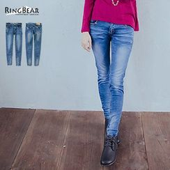 RingBear - Washed Skinny Jeans