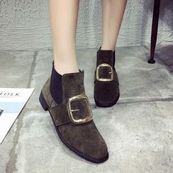Yoflap - Buckled Chelsea Boots