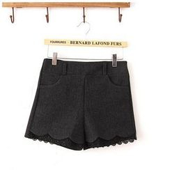 Maymaylu Dreams - Lace Hem Shorts