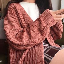 Little Cuke - Knit Cardigan