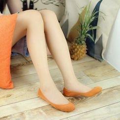 Socka - 防掉跟纯棉波点隐形船袜