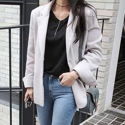 Seoul Fashion - Single-Breasted Blazer