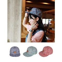 URBAN LADY - Floral-Pattern Cap
