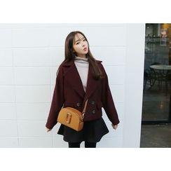 Envy Look - Double-Breasted Wool Blend Jacket