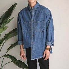 Real Boy - Long-Sleeve Denim Shirt