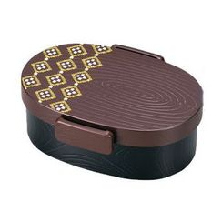 Hakoya - Hakoya Tight Mokume Oval Lunch Box Small (Kogecha)