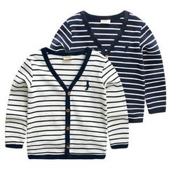 lalalove - Kids Striped Cardigan
