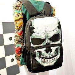 TAIPEI STAR - Skull-Print Backpack