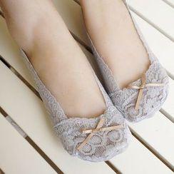 NANA Stockings - 蕾絲隱形船襪