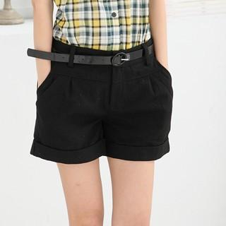 RingBear - Roll-Up Wool Shorts