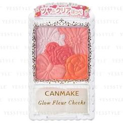 Canmake - Glow Fleur Cheeks (#02 Apricot Fleur)