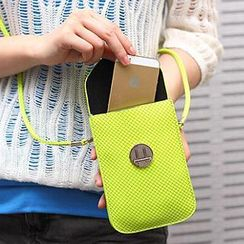 SUOAI - Woven Flap Mobile Phone Pouch