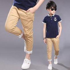 Pegasus - 小童拼接裤