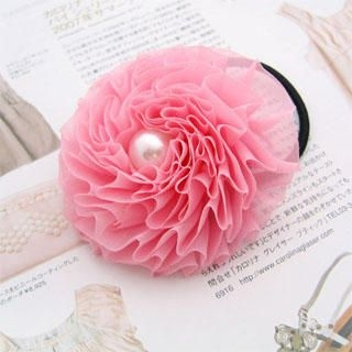 Fit-to-Kill - Flower Hair Tie / Hair Pin / Brooch