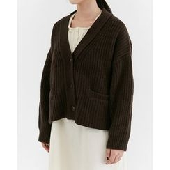 Someday, if - Dolman-Sleeve Dual-Pocket Cardigan