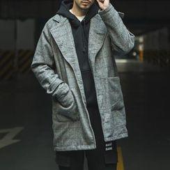 Streetstar - Plaid Long Coat