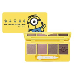 Missha - Minions Edition : Eye Color Studio Mini (#1)