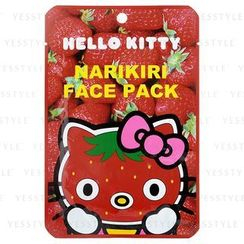Sanrio - Narikiri Face Pack Facial Beauty Mask (Hello Kitty) (Strawberry)