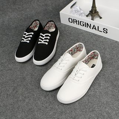 Klesky - Canvas Lace-Up Sneakers