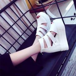 Sleeko - Wedge Sandals