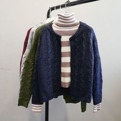 Phantasy - Cable Knit Cardigan