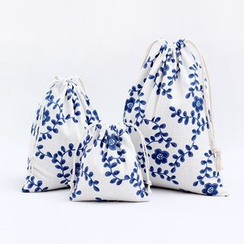 Eastin - Printed Drawstring Pouch