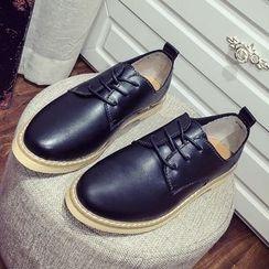 Micha - Low Heel Oxfords