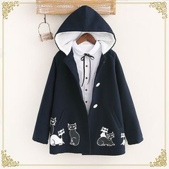 Fairyland - Hooded Embroidered Coat