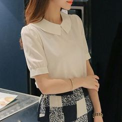 Q.C.T - Short-Sleeve Blouse