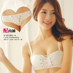 HYG Lingerie - Set: Corset Push-Up Bra + Panties