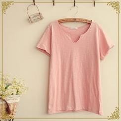 Fairyland - Short-Sleeve V-Neck T-Shirt
