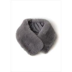 GOROKE - Magnetic-Closure Faux-Fur Scarf