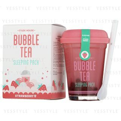 Etude House - Bubble Tea Sleeping Pack (Strawberry)