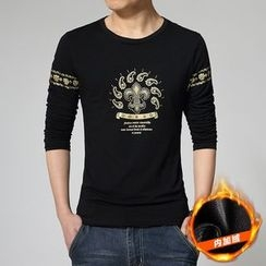 Alvicio - Printed Long Sleeve T-Shirt