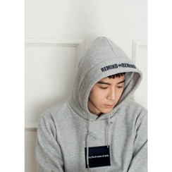 GERIO - Hooded Brushed Fleece Lined Sweatshirt