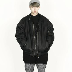 Remember Click - Padded Zip-Up Jacket